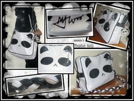 mannie's Panda Messenger Bag by mashimaroROCKS
