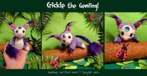 Plush: Crickle the Gemling by Quaylak