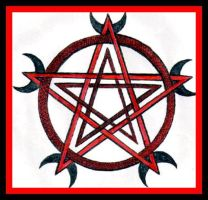 Double Pentacle version II by wiccan-club