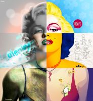 marilyn monroe - Isrart Collaboration by VectorZach