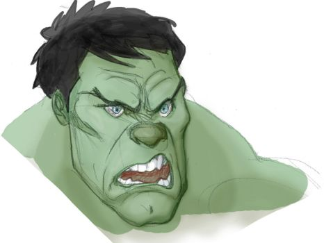 Hulk by SlaineSonOfRoth