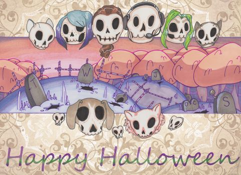 Day 31- Happy Halloween by wylde