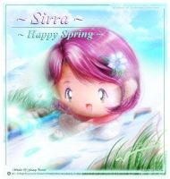 Happy Spring with Sirra by Kauthar-Sharbini
