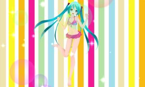 Api Miku swimwear (download) *UPDATE* by YamiSweet