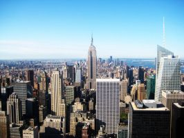 New York morning view by silvia64