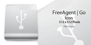 FreeAgent Go Icon Sliver by pygoscelis
