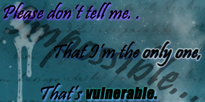 Vulnerable.mp3 by obitoxuchihaxlover