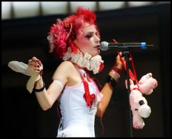 Emilie Autumn 2 by VisualField