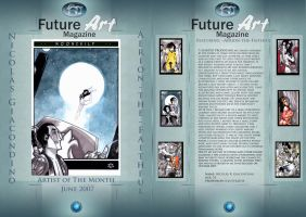 Monthly Artist June by Future-Art-Magazine