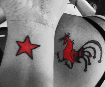 Red Tattoo by TaniaFJC