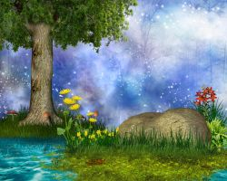 FANTASY STOCK BG by Moonglowlilly