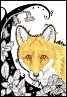 The Golden Fox by urbanimal