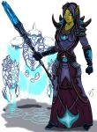 Orc Frost Mage. by MyStyleArtwork