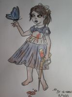 Little sister Bioshock by Urdeil