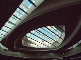 Ceiling of a Mall. by JayLPhotography