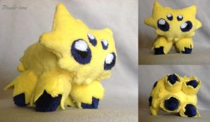 Joltik Plush by Plush-Lore