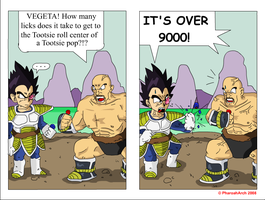 IT'S OVER 9000 -licks- by PharoahArch