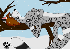 Snow Leopard - Request by SlaveWolfy