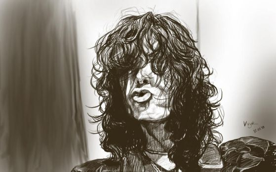 Jimmy Page by vvyk