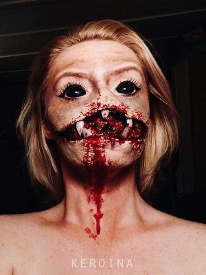 i spit on your grave SFX MAKEUP by Deliszja