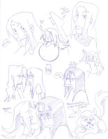 doodles of dethklok by xemmi