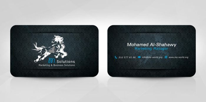 M.Solutions Card 1 by fewela