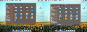 Kde cork and wood theme ---old --- by samuaz