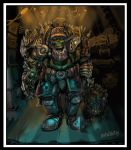 warhammer ork colour by PabelBilly