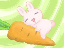 Bunny heaven by Poopinesses