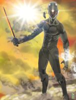 Gray Fox by AizakMoon