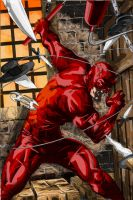 Daredevil At The Comedy Cafe by CounterPunch