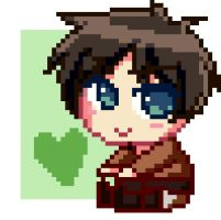 Look I made pixel art by Toukoni