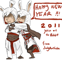 AC_happy NEW YEAR by LadyNorthstar