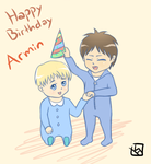 Eremin Week (6) and Armin's BD by mewTalina