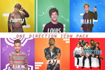 One Direction Icon Pack by stam-ford