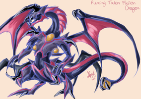 Piercing Talon Fusion Dragon by LightEndDragon