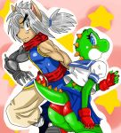 Abel and Yoshi by ss2sonic