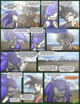 Sonic the Hedgehog Z #15 Pg. 27 February 2017 by CCI545