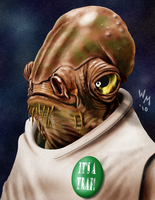 Admiral Ackbar by quibly