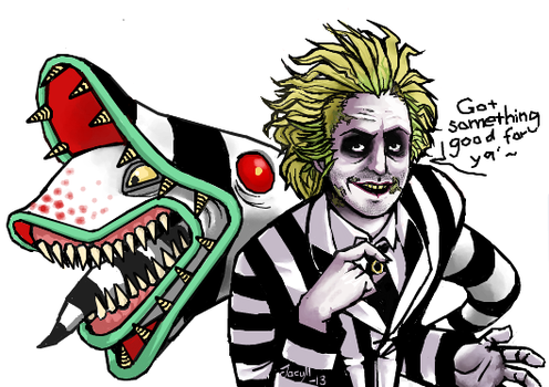Beetlejuice by Jacyll