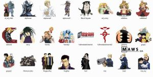 FMA Icons Pack by MawsCM