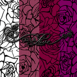 Rose Lace pattern backgrounds by ohlalove