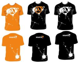 half life 2 shirt concepts by jakehosmer