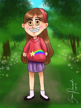 Mabel Pines from Gravity Falls by roosterpeacock65