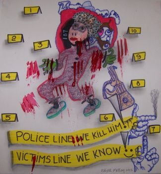 POLICE BRUTALITY # 1 by 19811964erosburkay