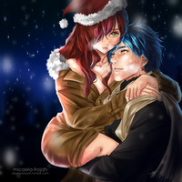 Jellal x Erza (Christmas Special) by Micaela-Frojdh