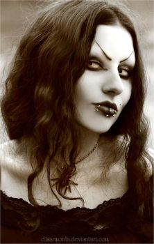 Another Goth Portrait by d1sarmon1a
