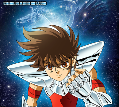 Seiya Blue Forever by Chiok