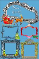 Decorative frames by Gala3d