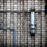 pipes on bricks by Igor-Demidov